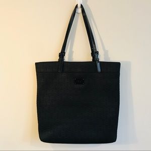 Michael Kors Neoprene Tote Bag In Black
